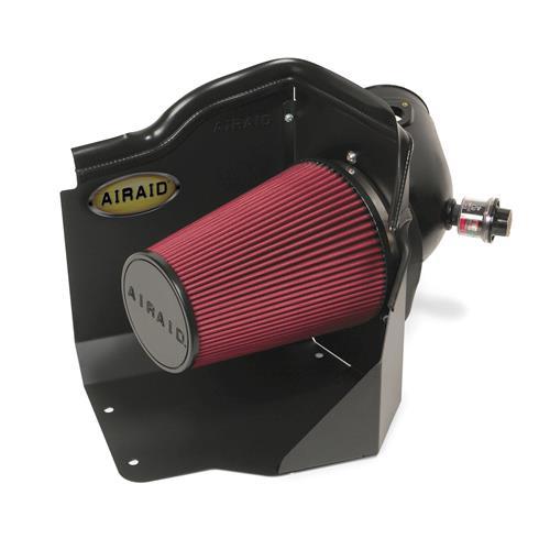 201-187 - Airaid SynthaMax Cold Air Intake System - Dry - Chevy 2006-07 Silverado