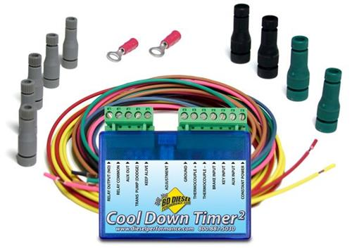 1081160 - BD Cool Down Timer Kit - Dodge 1994-2005 / Ford 1994-2018 / GM 2001-2014