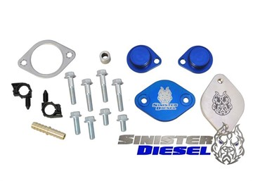 Picture of Sinister Diesel EGR & Cooler Delete Kit - Ford 2008-2010