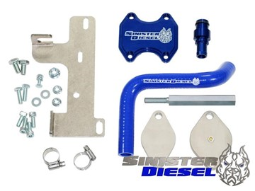Image de Kit de suppression Sinister Diesel EGR & Cooler - Dodge 2010 - 2014