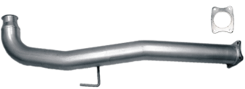 "41111 - Flo-Pro 4"" Cat Delete Race Pipe - Stainless GM 2011 - 2015"