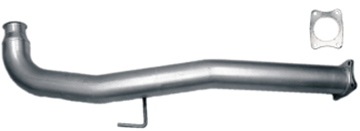 41111 - Flo-Pro 4-inch Cat Delete Race Pipe - Stainless GM 2011 - 2015