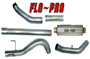 SS819 - Flo-Pro 4-inch Turbo Back Exhaust - Stainless - Dodge 2004.5-2007 QC-MC/SB-LB-Dually