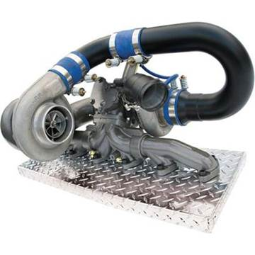Picture of BD R700 Twin Turbo  Kit Dodge 2003 - 2007
