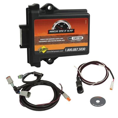 1036620 - BD Diesel's High Idle Kit for 2003-2004 Dodge Cummins 5.9L diesels