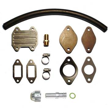 Picture of EGR & Cooler Delete Kit w/ Molded Coolant Hose - Dodge 2013-2017