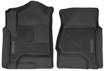 53111 - Husky Front Mats - Front - GM 2015-2018 Crew Cab/Double Cab