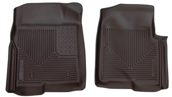 Picture of Husky Floor Mats - Front - Ford 2009-2014 F-150