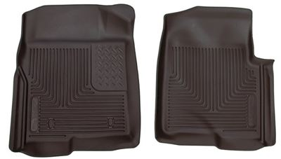 53311 - Husky Floor Mats - Front - Ford 2009-2014 F-150