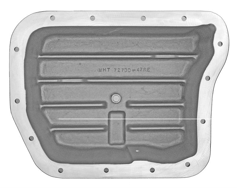 727-DD - Mag-Hytec 727-DD Transmission Pan (Double Deep)