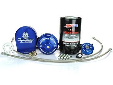 Image de Sinister Diesel External Oil Filter System - Ford 2003-2007