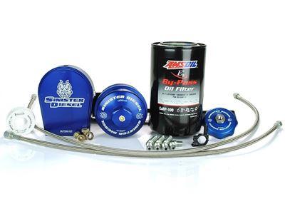 SD-EOF-6.0 - Sinister Diesel External Oil Filter System for 2003-2007 Ford Powerstroke 6.0L Diesels
