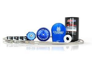 SD-EOF-6.4 - Sinister Diesel External Oil Filter System for 2008-2010 Ford Powerstroke 6.4L diesels