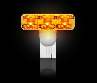 264180AM - Recon High Power LED Bulb in Amber - Ford 1999-2016