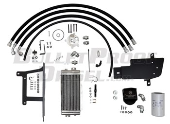 90409000 - Bulletproof Oil Cooler Half-Kit - Ford 2008-2010