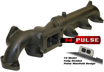 1045965-T4 - BD Exhaust Manifold (T4 Pulse Mount) - Dodge 2007-2012