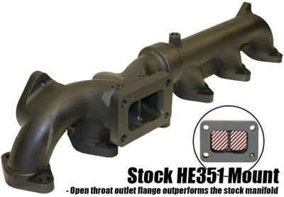 1045965 - BD Exhaust Manifold (OEM HE351 Mount) - Dodge 2007-2012