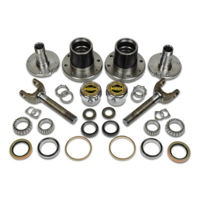 CR60-3X1104-H - Dynatrac Free-Spin Dodge Kit w/ Warn Hubs - 2010-11 Dodge