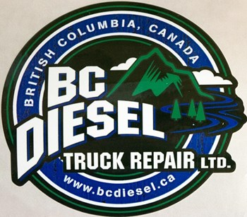 "Image de BC Diesel 3.5"" Black Sticker (Small)"