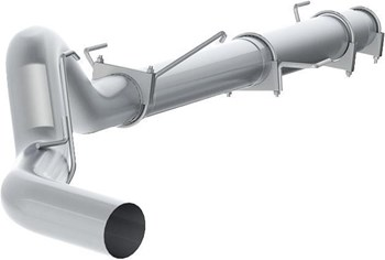 S61180PLM - MBRP 5-inch Cat Back Exhaust - Aluminized NM/NT Dodge 2004.5-2007