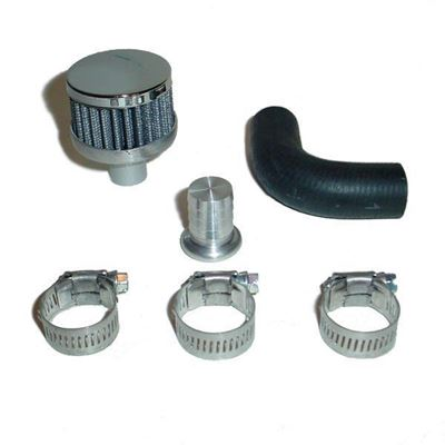 07510-VCB - Glacier Diesel CCV Open Breather Kit - 2007-15 Dodge