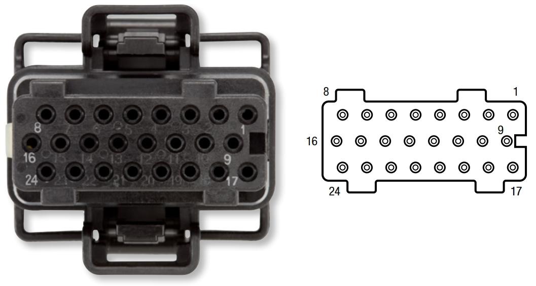 AP0020 - Alliant FICM Connector - Ford 2003-07 - X-1