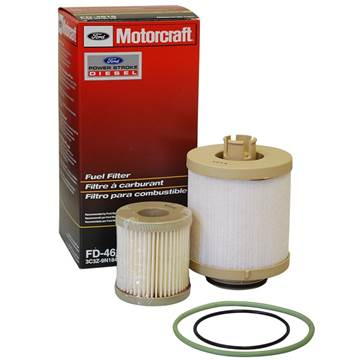 FD-4616 - Ford Motorcraft Fuel Filter / Water Separator - Ford 2003 - 2007