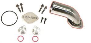 EC64 - Flo Pro EGR Cooler and Valve Delete Kit w/ Intake Manifold - Ford 2008-2010