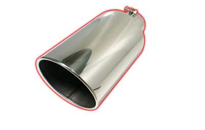 508015RACB - Flo-Pro Exhaust Tip 5-inch - 8-inch x 15-inch - 304 Stainless
