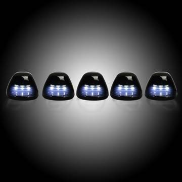 Image de Recon LED Cab Roof Lights - Smoked/White - Ford 1999-2016