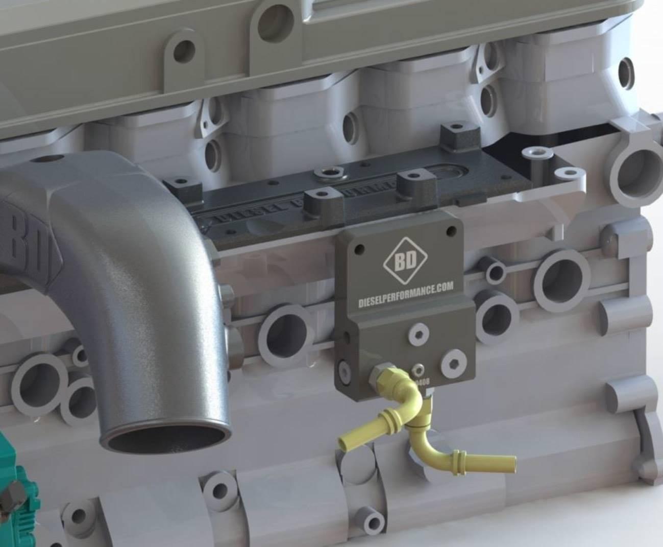 1050370 - BD Cummins Fuel Bowl Delete - Dodge 2003 - 2009