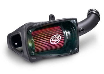 75-5104 - S&B's Cold Air Intake System w/ Oiled Filter for 2011-2016 Ford Powerstroke 6.7L Diesel trucks