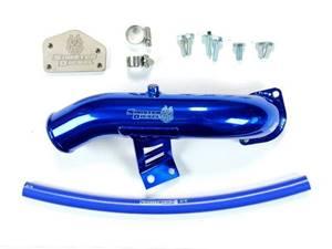 SD-EGRD-LLY-IE - Sinister Diesel EGR & Cooler Delete Kit w/ Intake Tube for 2004-2005 GMC/Chevy Duramax 6.6L LLY diesels