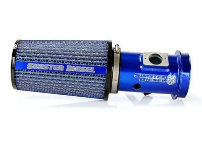 SD-CAI-6.4 - Sinister Diesel Cold Air Intake Kit - Blue - Ford 2008-2010