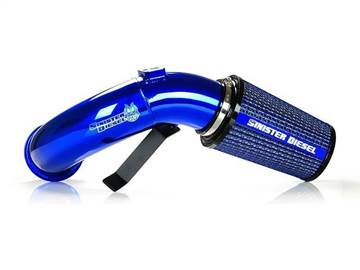 SD-CAI-6.7C-07 - Sinister Diesel Cold Air Intake Kit - Blue - Dodge 2007-2012