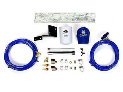 SD-COOLFIL-6.0V-W - Sinister Diesel Coolant Filter Kit (WIX Filter) - Ford 2003 - 2007 E-Series
