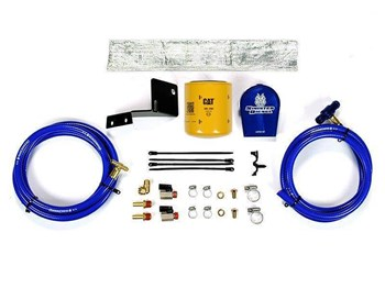 SD-COOLFIL-6.0V-C - Sinister Diesel Coolant Filter Kit (CAT Filter) - Ford 2003 - 2007 E-Series