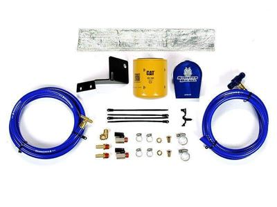 SD-COOLFIL-6.0V-C - Sinister Diesel Coolant Filter Kit (CAT Filter) - Ford 2003 - 2007 E-Series