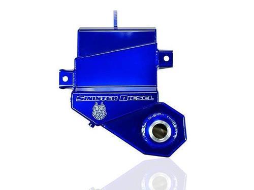 SD-DEGAS-6.0 - Sinister Diesel's Coolant Overflow (degas) bottle for 2003-2007 Ford Powerstroke 6.0L diesels