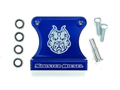 SD-FBD-5.9-03 - Sinister Diesel's Fuel Bowl Delete kit for 2003-2007 Dodge Cummins 5.9L diesels
