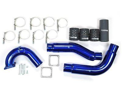 SD-INTRPIPE-5.9-IE-KIT - Sinister Diesel Intercooler Pipe Kit with Intake Elbow for 2003-2007 Dodge Cummins 5.9L diesels