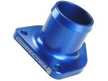 SD-THERMO-7.3 - Sinister Diesel's Thermostat Housing for 1999-2003 Ford Powerstroke 7.3L diesels