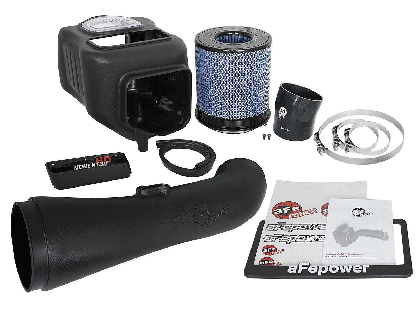 50-74008 - AFE Momentum HD Cold Air Intake Pro 10R for 2017-2018 GMC/Chevy Duramax 6.6L L5P diesels