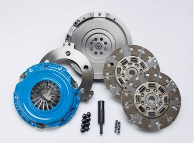 SDDMAXDFY - South Bend Dual Disc Clutch & Flywheel - 650HP / 1200 lbs-ft - GM 2001-2005