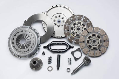 SDD3250-5K - South Bend Clutch & Flywheel Kit w/ Input Shaft - 650HP / 1300 lbs-ft - Dodge 1994-2004 NV4500/NV5600 NON-HO