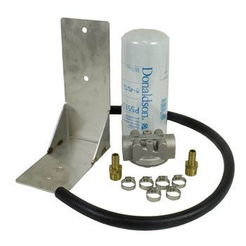 1050060 - BD Remote Auxiliary Fuel Filter Kit - GM 2001-2012