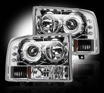 264192CL - Recon Projector Headlights - Clear - Ford 1999-2004