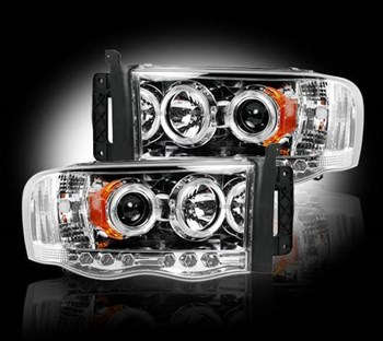 Picture of Recon Projector Headlights - Clear - Dodge 2003-2005