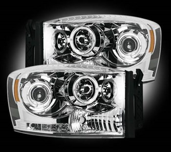 Picture of Recon Projector Headlights - Clear - Dodge 2006-2009