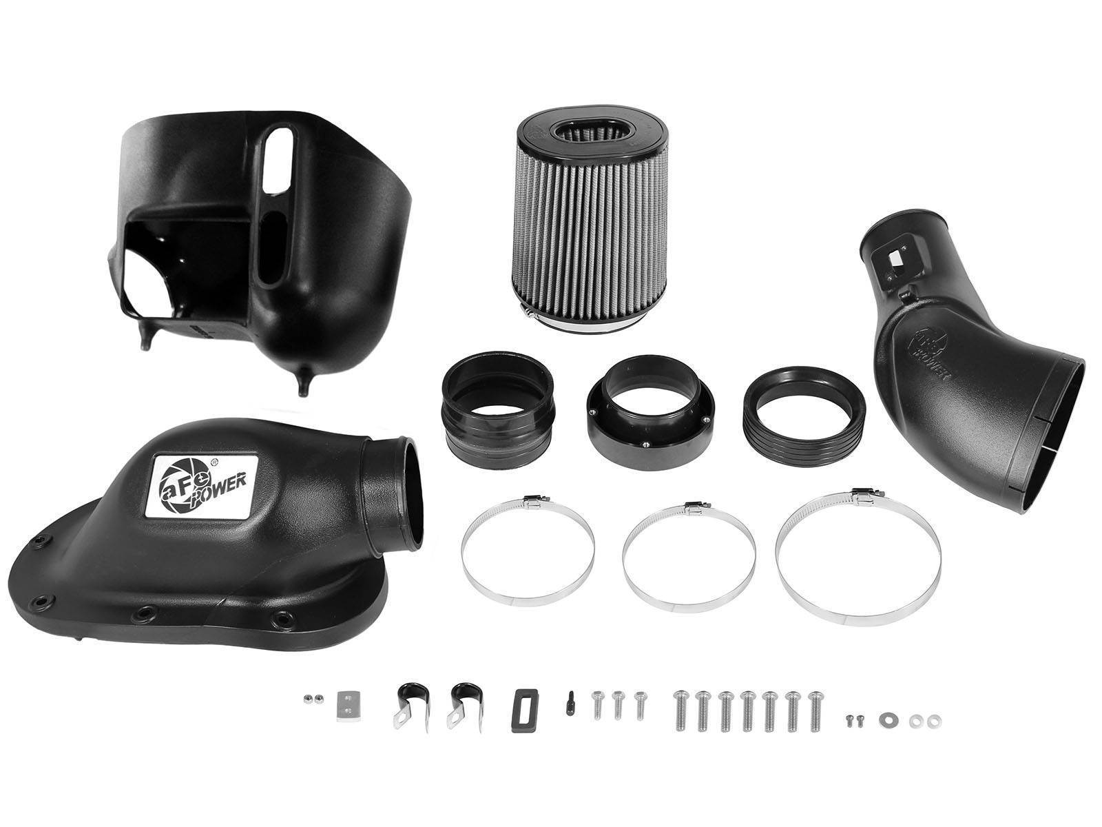51-81872-1 - aFE Pro-Dry-S Type Si Performance Cold Air Intake System for 2011-2016 Ford Powerstroke diesels